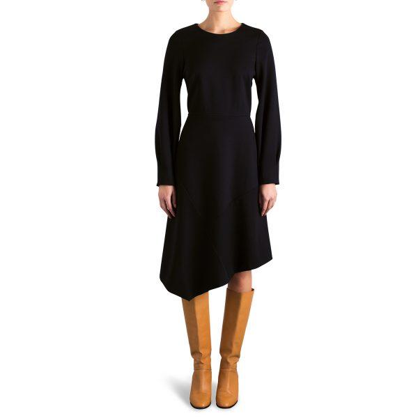 Stretch black dress