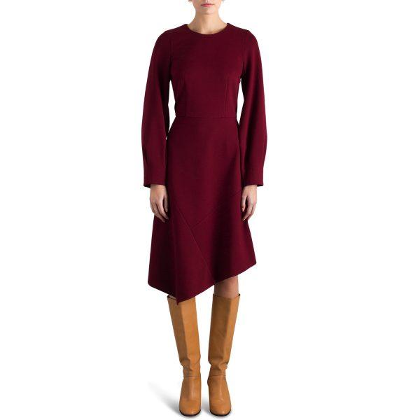 dress wine red