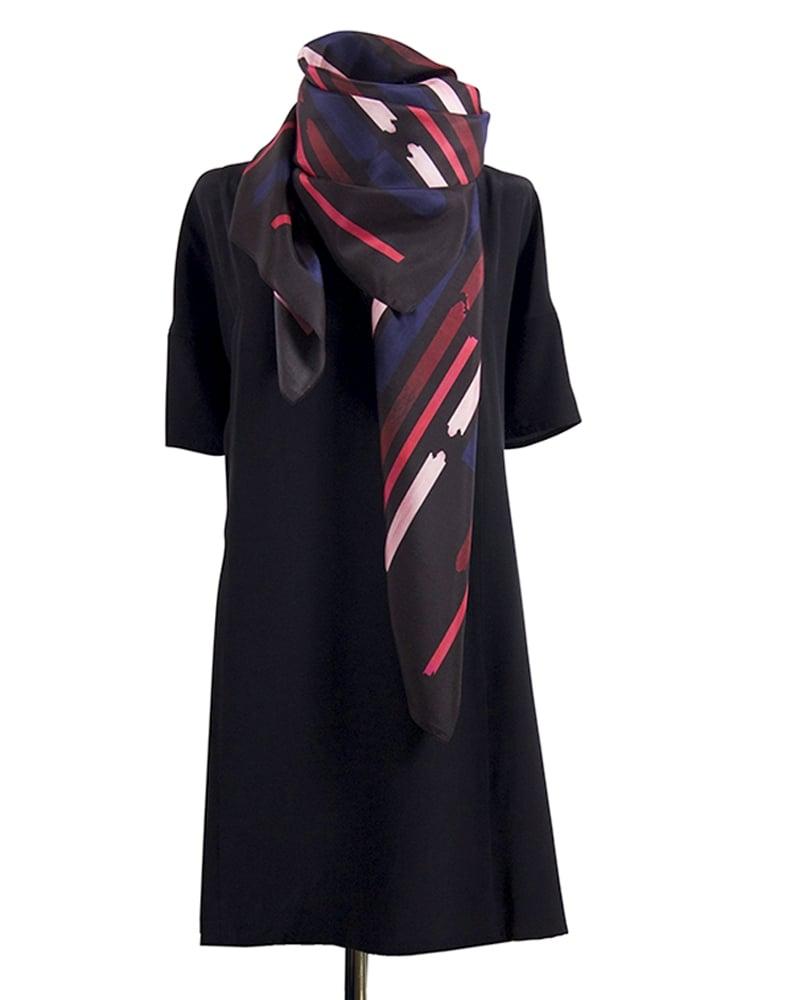Silk scarf gentle