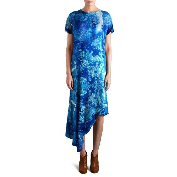 Dance dress blue