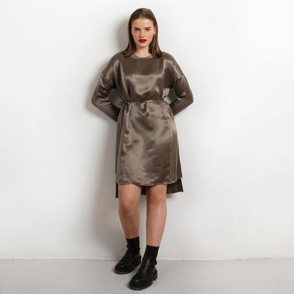 Day dress cupro