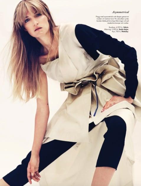 Studio Heijne dress featured in Elle Magazine