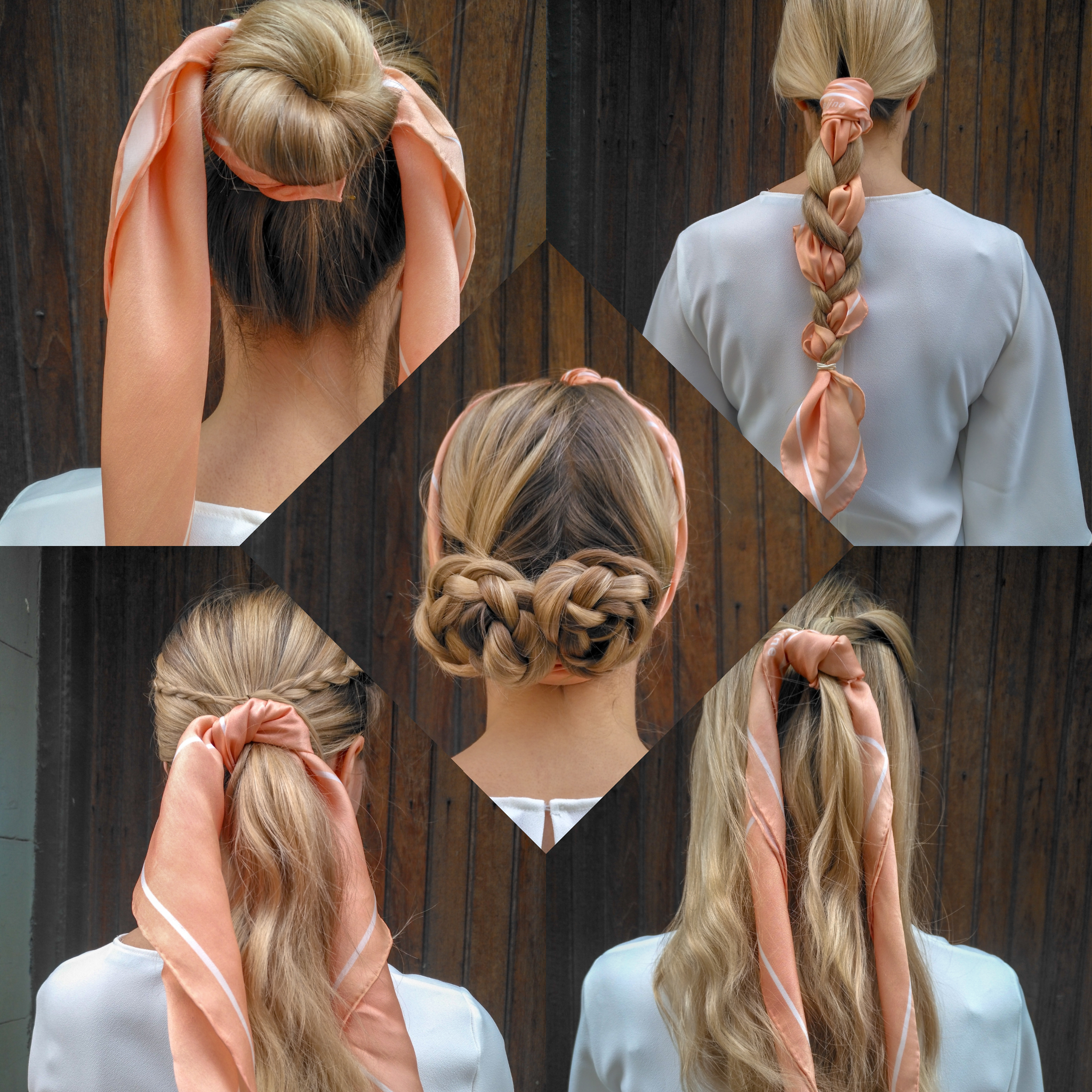 Awesome Easy Hair Styling Ideas With A Small Silk Scarf Studio Heijne Schematic Wiring Diagrams Amerangerunnerswayorg