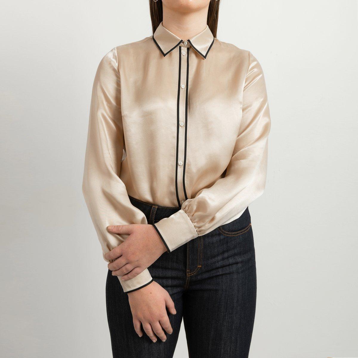 Contrast shirt