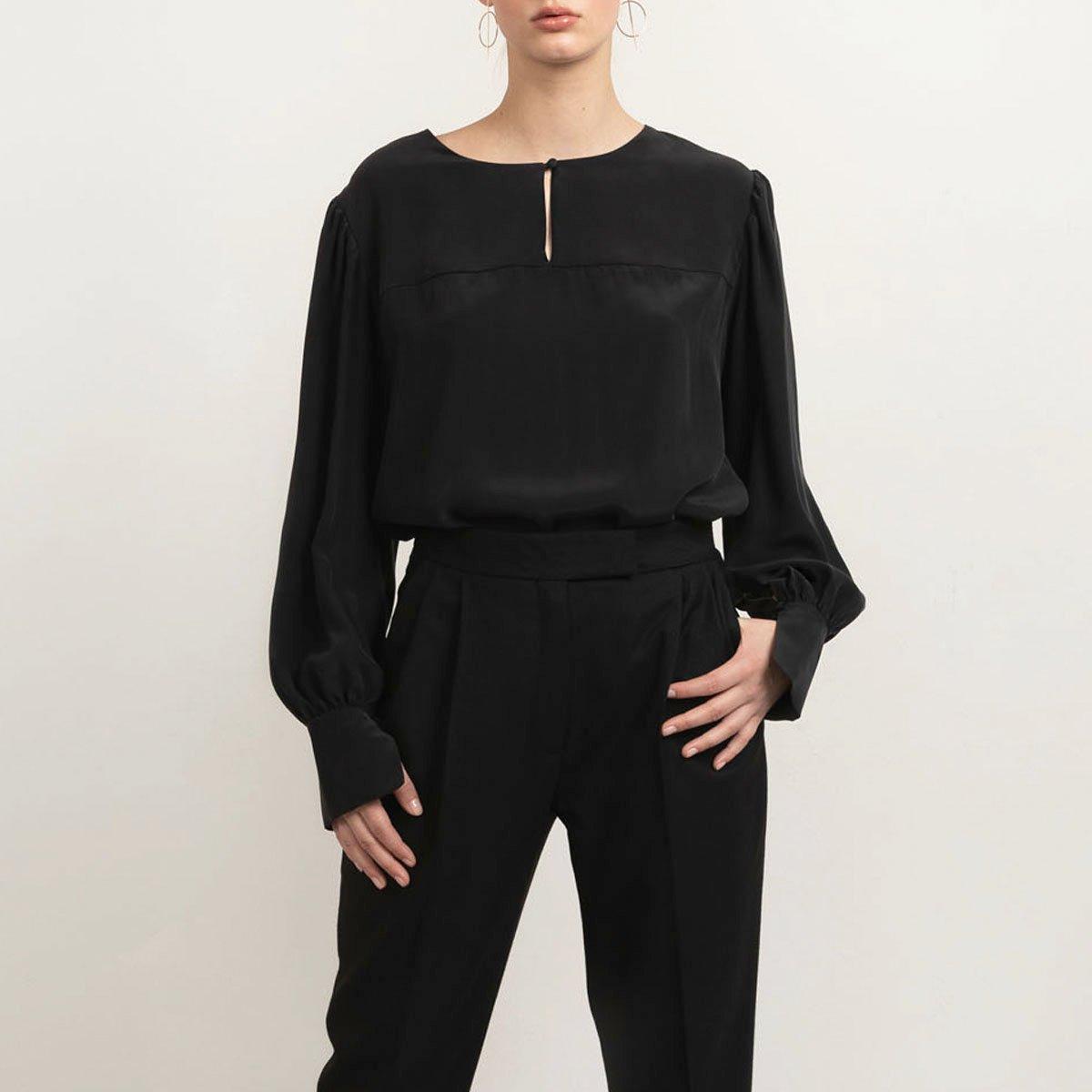 Blaze silk blouse
