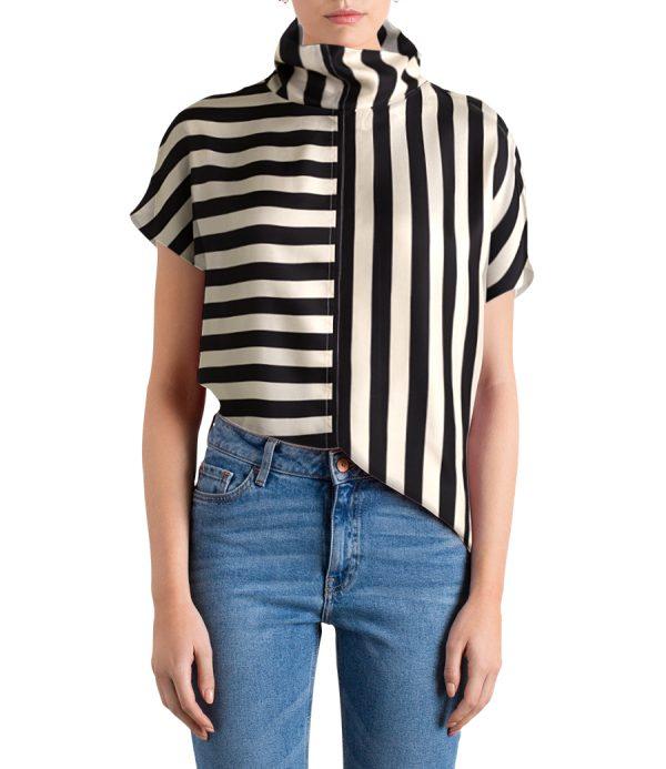 striped revolution top
