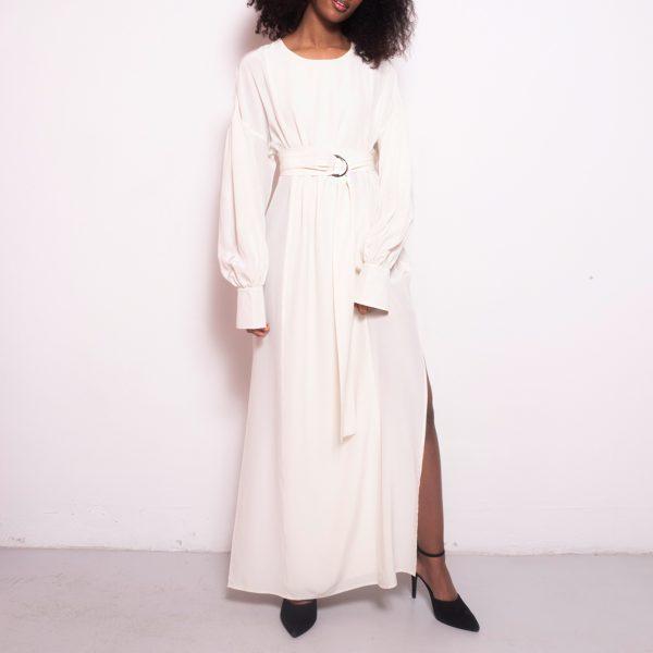 Sunday dress white