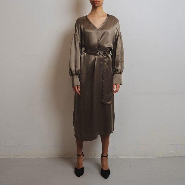 Dress in cupro
