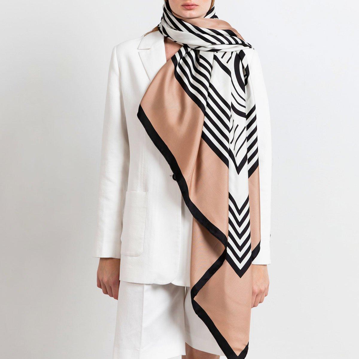 Large silk scarf Heijne